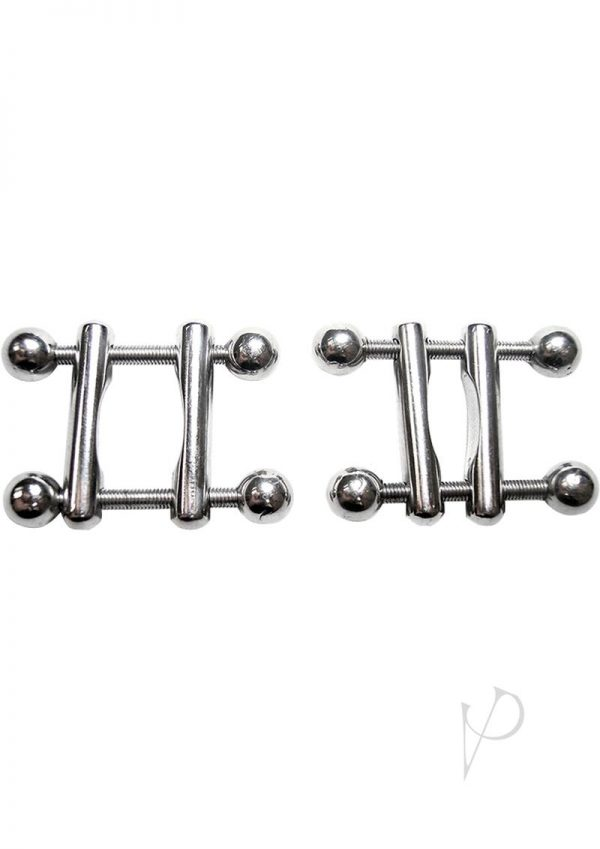 Rouge Ball End Nipple Clamps Adjustable Stainless Steel